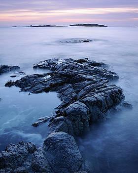 Stepping Stones, Sanna Bay, Scotland by David Stanley