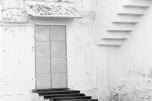 Steps Door Squares  by Prakash Ghai