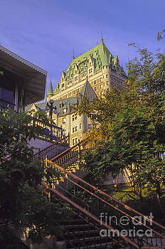 Bob Phillips - Steps to Chateau Frontenac
