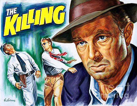 Sterling Hayden - The Killing 1956 - Stanley Kubrick by Spiros Soutsos