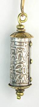 Sterling Silver Secret Message Amulet  by Vagabond Folk Art - Virginia Vivier
