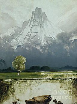 Stetind by Peder Balke