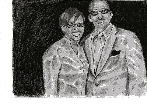 Steve and Claxette by Earl Johnson