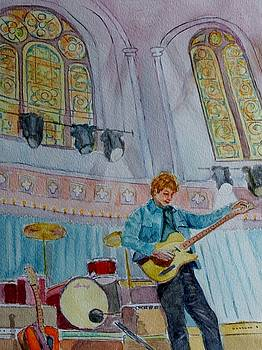 Steve Gunn in a Belgium Cathedral by Jeannie Allerton