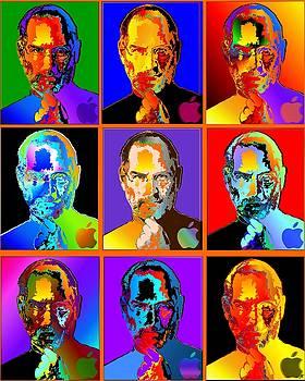 Steve Jobs by Marcus Lewis
