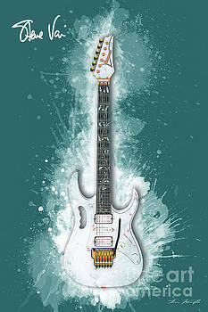 Steve Vai Guitar by Tim Wemple