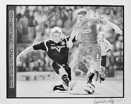 Steven Gerrard by Raymond Potts