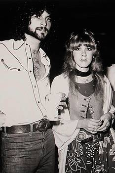 Stevie Nicks and Lindsey Buckingham by Donna Wilson