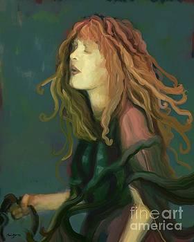 Stevie Nicks by Carrie Joy Byrnes