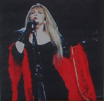 Stevie Nicks In Concert by Donna Wilson
