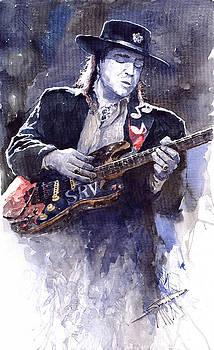 Stevie Ray Vaughan 1 by Yuriy  Shevchuk