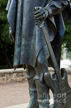 Herronstock Prints - Stevie Ray Vaughan famous guitar statue located on Town Lake