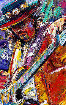 Stevie Ray Vaughan number one by Debra Hurd