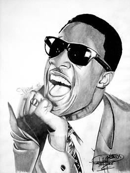 Stevie wonder Drawing by Keeyonardo