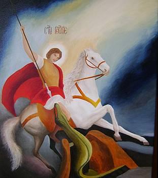St.Georgie by Jelka Markovic