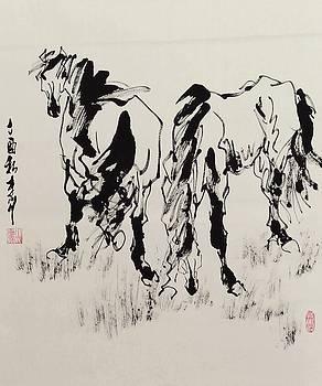 Stick together by Richard Xiaochuan Li