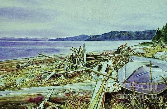 Stick-up Beach by Cynthia Pride