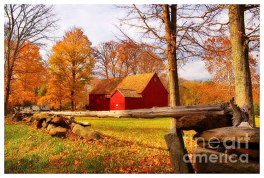 Stiles Barn by Marcel  J Goetz  Sr