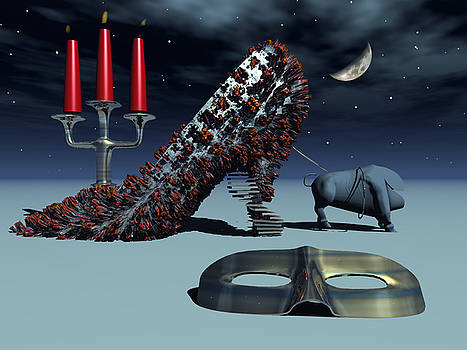 Stiletto Bull by Peter Draculic