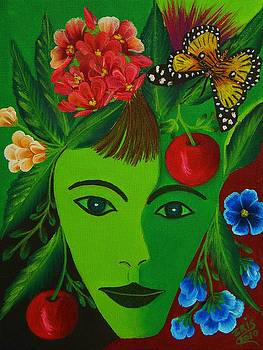 Still Green by Iris  Mora