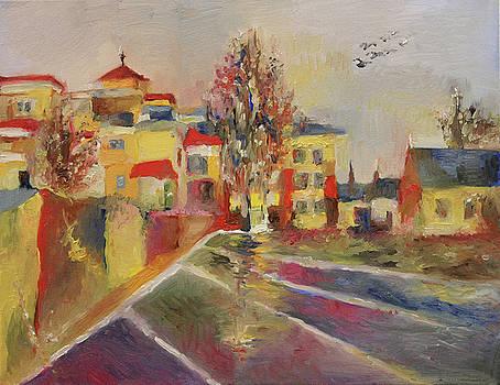 Still It Rains  by Yimeng Bian