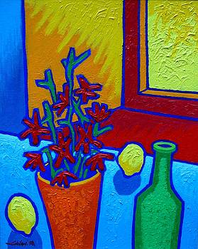 still Life At Yellow Window by John  Nolan