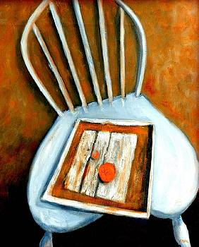 Still Life - Chair with Fruit by VIVA Anderson