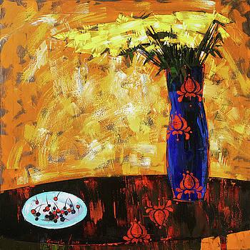 Still life. Cherries for the queen by Anastasija Kraineva