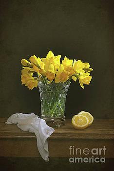 Still Life Daffodils by Amanda Elwell