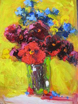 Still life floral by Susan Jenkins
