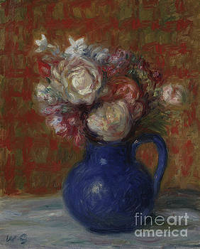 William James Glackens - Still life French Bouquet, 1927