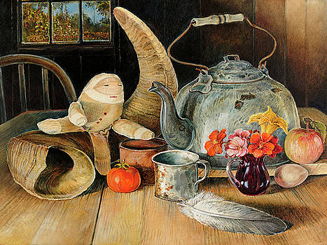 Still-life in repetition by Steve Spencer