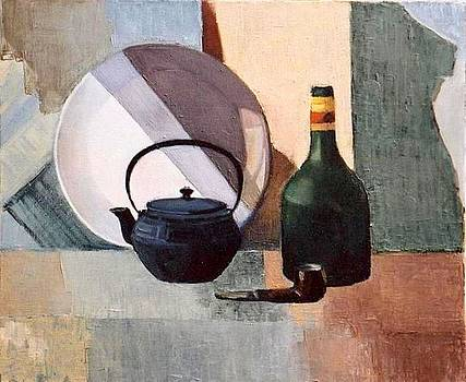 Still-life by Liubov Meshulam Lemkovitch
