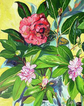 Still Life of Flowers by Joseph Demaree