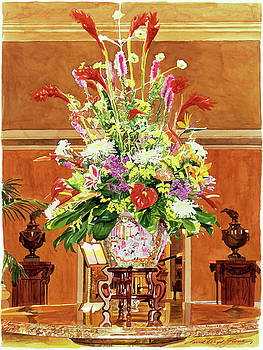 Still Life - Ritz Carlton Laguna Niguel by David Lloyd Glover