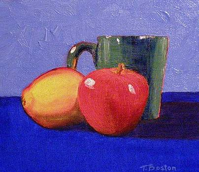 Still Life with a Green Mug by Teresa Boston