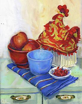 Still Life With a Tea Cosy by Lelia Sorokina