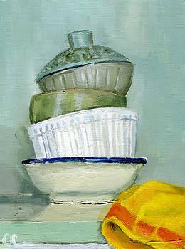 Still Life With a Tea Towel by Lelia Sorokina