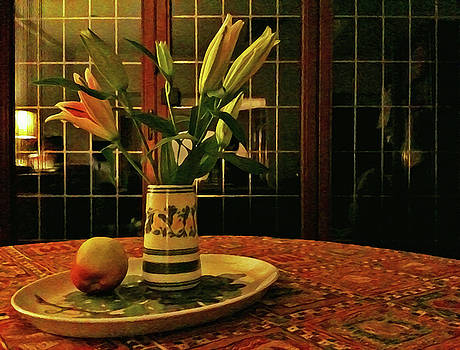 Still Life with Apple by Anne Kotan
