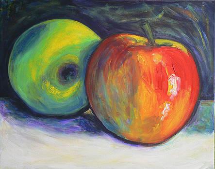 Still Life With Apples by Regina Slavin
