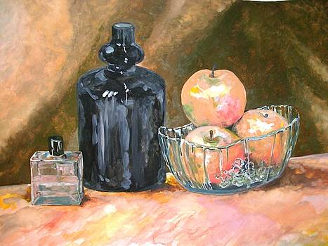 Still life with apples by Sonya Ragyovska