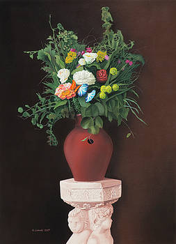 Still Life with Butterfly by Norb Lisinski