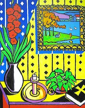 Still Life with Candlestick by Nicholas Martori