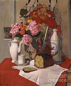 Felix Edouard Vallotton - Still Life with Flowers, 1925