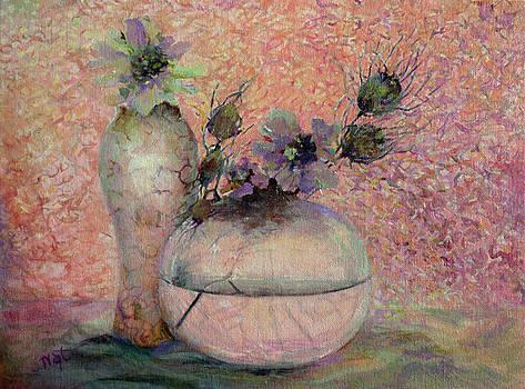 Still Life with Flowers by Natalya Shvetsky