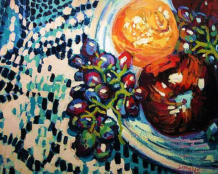 Still Life with Fruit by Brian Simons