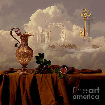 Alexa Szlavics - Still life with gold key