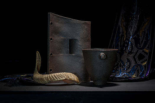 Still Life with Horn by William Sulit