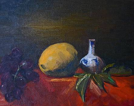 Still Life with Lemon by Lisa Buchanan