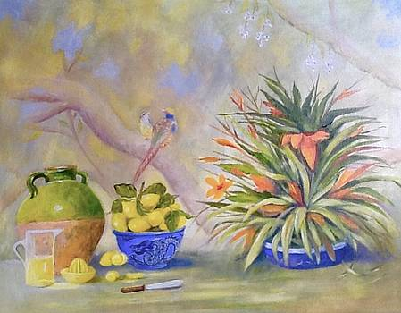 Still Life With Lemons by Pam Usher